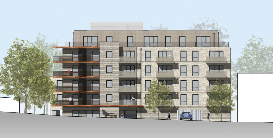 Residential-led mixed use application submitted in Blackbird Hill, Brent